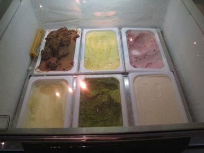 レストラン ボナペティ クレープシュゼットのアイスをチョイス