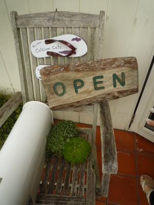 カルカフェの店舗入り口