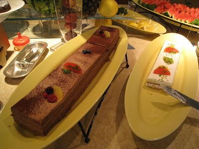 ラグナガーデンホテルランチバイキングの種類が豊富で美味しいデザート2